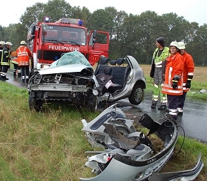 Fahranfängerin tödlich verunglückt. Foto: Polizeiinspektion Rotenburg