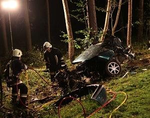 Tödlicher Unfall bei Höchstadt. Foto: news5.de