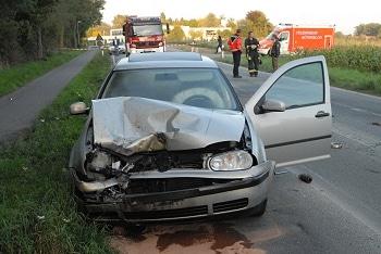 Spuren eines tödlichen Unfalls. Foto: Andreas Eickhoff