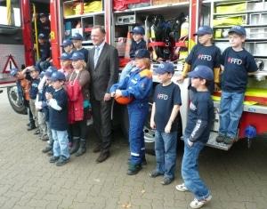 Erste Kinderfeuerwehr in Hannover: Feuerwehr Hannover