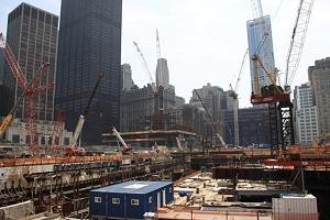 Großbaustelle am Ground Zero. Foto: JF Stellingen