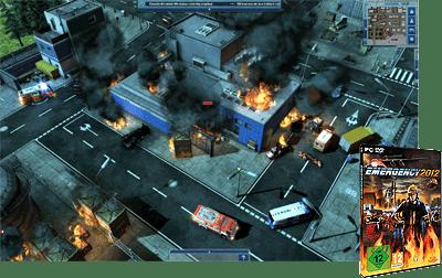 "Das Feuerwehr-PC-Spiel: ""Emergency"" gibt es jetzt in einer neuen Version. Screenshot/Foto: Deepsilver"