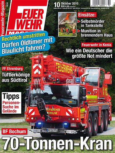 Feuerwehr-Magazin 10/2010