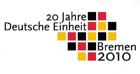 """Logo """"Tag der Deutschen Einheit 2010""""."""