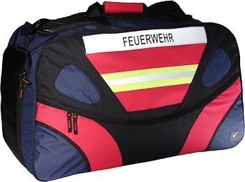 """Multifunktionstasche """"Ragbag"""" von TEE-UU mit optionalem """"Feuerwehr""""–Reflexstreifen. Foto: RND sportive/TEE-UU"""