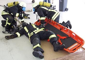 Notfalltraining für Atemschutzgeräteträger wird jetzt auch von atemschutzunfaelle.eu angeboten. Foto: Thomas Weege