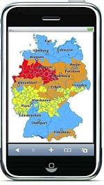Wetterwarnungen mobil auf dem Handy abrufen - der Deutsche Wetterdienst hat dieses Angebot jetzt verbessert. Screenshot: DWD