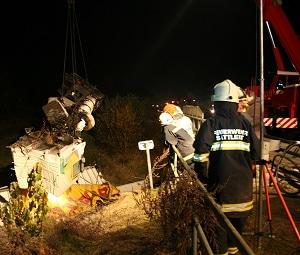 Tödlicher Lkw-Unfall in Oberösterreich. Foto: Feuerwehr Sattledt