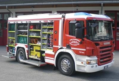 Ungewöhnliches TLF 4000 für die FF Waidbruck. Foto: Norbert Merler/Feuerwehr