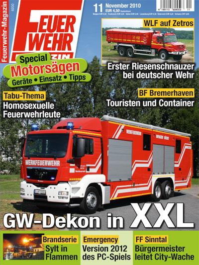 Feuerwehr-Magazin 11/2010