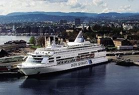 Pearl of Scandinavia im Hafen von Oslo. Foto: DFDS Seaways