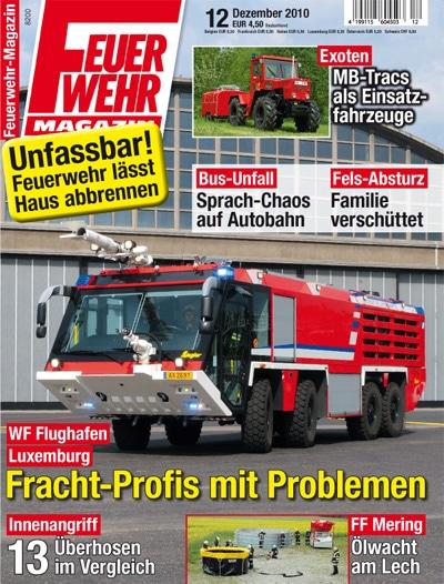 Feuerwehr Magazin 12/2010