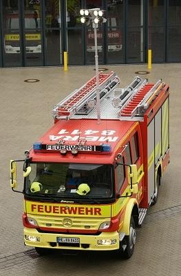 Hilfeleistungs-Löschgruppenfahrzeug Berufsfeuerwehr Ratingen. Symbolfoto: Jan-Erik Hegemann
