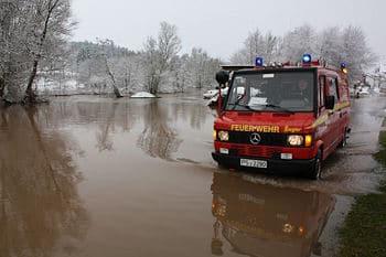 Hochwasser in Rheinland-Pfalz: Besonders betroffen ist die Verbandgemeinde Zweibrücken-Land. Foto: Feuerwehr
