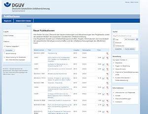 DGUV-Datenbank.