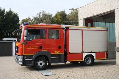 StLF 10/6 der FF Kollmar-Bielenberg auf einem MAN TGL 8.180 mit Ziegler-Aufbau. Foto: Kai Schumacher/Feuerwehr