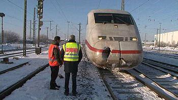Tödlicher Bahnunfall in Wunstorf: Ein Arbeiter wurde von einem ICE erfasst und getötet. Foto: Nonstopnews