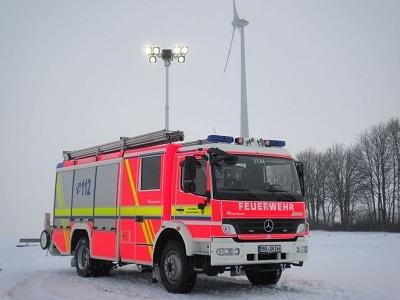 Das neue Löschgruppenfahrzeug der FF Windecken auf Mercedes Atego. Foto: Malte Dorrmann/Feuerwehr