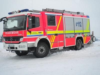 Den Aufbau des LF 20/16 fertigte Rosenbauer. Foto: Malte Dorrmann/Feuerwehr