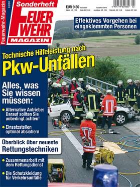 """Fahrzeuge mit alternativen Antrieben: Auch ein Thema im Feuerwehr-Magazin-Sonderheft """"Technische Hilfeleistung nach Pkw-Unfällen""""."""