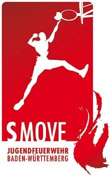 Logo von S-Move, dem Jugendfeuerwehr-Streetballturnier. Logo: JF Baden-Württemberg