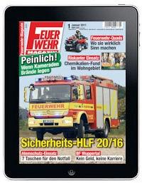 Feuerwehr-Magazin auf dem iPad!