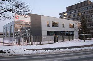 In diesem Gebäude entsteht die neue Großleitstelle in Oldenburg. Foto: Polizei