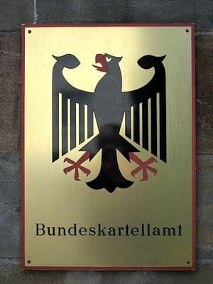 Schild am Eingang des Bundeskartellamtes. Foto: Bundeskartellamt