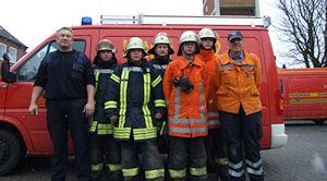 Atemschutz-Notfallrettungsgruppe in Emden. Foto: FF Emden