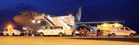 Airbus A 310 der Luftwaffe auf dem Vorfeld. Foto: Ingo Bicker / Luftwaffe