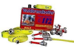 """""""Waldbrandkoffer WBK-2011 Typ 1"""" von Bals Brandschutz. Foto: Bals Brandschutz"""