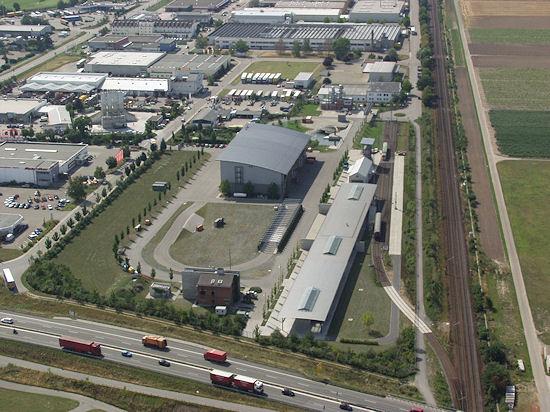Übungsanlage der Landesfeuerwehrschule in Bruchsal. Foto: Landesfeuerwehrschule / Wikipedia