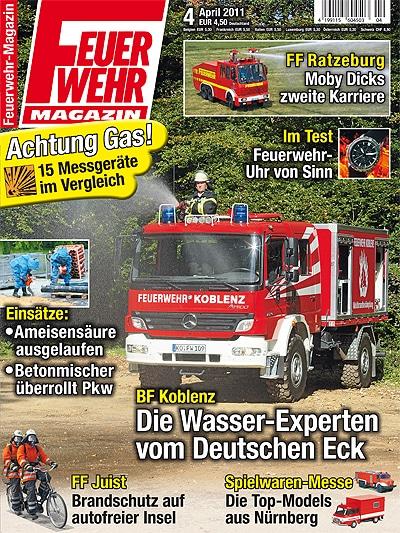 Feuerwehr-Magazin 4/2011