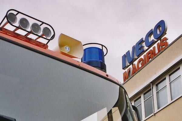 Die Iveco Magirus Brandschutztechnik GmbH steht im Fokus eines Ermittlungsverfahrens des Bundeskartellamtes. Foto: Michael Klöpper