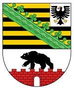 Wappen Sachsen-Anhalt.