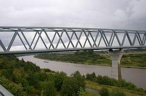 Der Unfall geschah in der Nähe der Grünentaler Hochbrücke. Foto: Wusel007/wikipedia.de