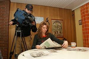 Nadja Possberg aus Langenhagen war bei dem Busbrand eine der wenigen Ersthelferinnen. Foto: VOX