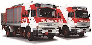 RW-Schiene der Feuerwehr Frankfurt. Foto: Andreas H. Fritzsche