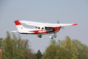 Flugdienst des Landesfeuerwehrverbandes Niedersachsen. Foto: Matthias Köhlbrandt