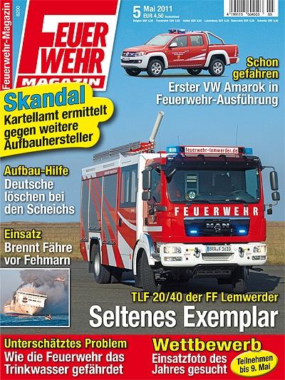 Feuerwehr-Magazin 5/2011