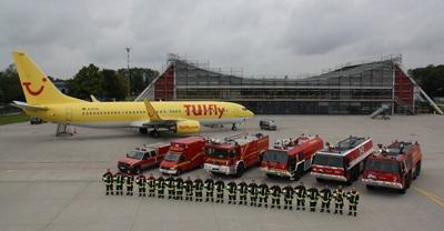 """Aus einem ehemaligen Militärflugplatz entstand der Verkehrsflughafen """"Allgäu Airport"""". Foto: Klöpper"""