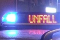 Symbolfoto: Blaulicht/Leuchtschrift/Unfall (Foto: T. Weege)