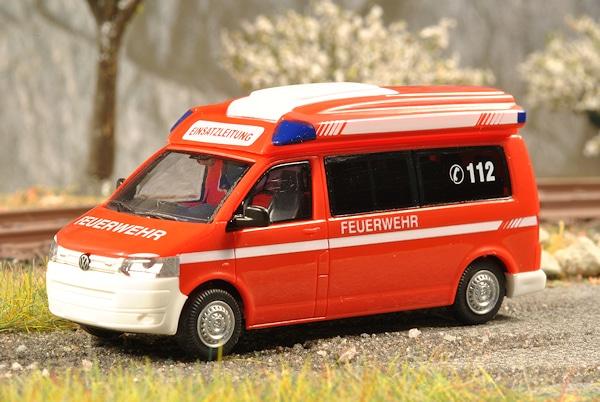 "Den ELW Typ ""Rhombus"" der Firma TDS invents bot Rietze auf der RETTmobil als H0-Modell an. Foto: Olaf Preuschoff"
