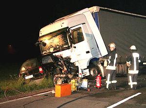 Tödlicher Unfall bei Rott am Inn. Foto: fib/BR