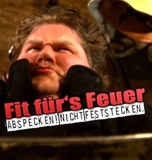 Mit einem witzigen Video wird für mehr Fitness im Feuerwehrdienst geworben. Foto: HFUK