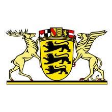 Wappen Baden-Württemberg.