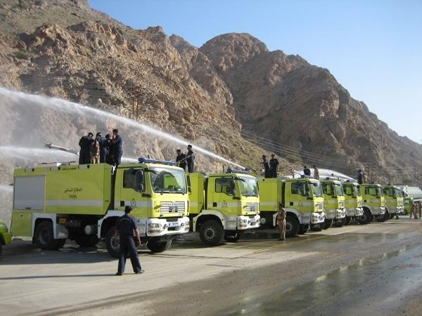 Insgesamt umfasst der Auftrag 34 Großtanklöschfahrzeuge im Wert von rund 8 Millionen Euro. Die ersten Einheiten sind bereits ausgeliefert worden. Foto: Empl