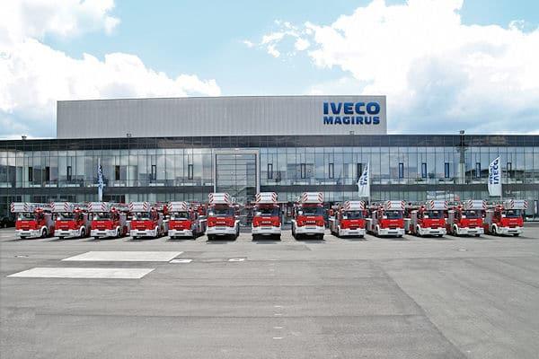 Iveco Magirus-Werk in Ulm: Die Firma muss 17,5 Millionen Euro Bußgeld an das Bundeskartellamt zahlen. Foto: Iveco Magirus