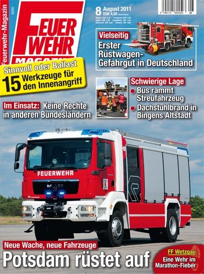 Feuerwehr-Magazin 8/2011