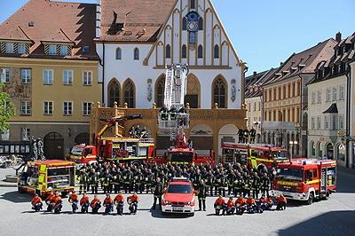 Die FF Amberg zeichnet sich durch eine starke Mannschaft aus. Foto: A. Müller